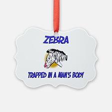 2-Zebra841 Ornament