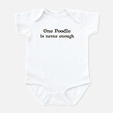 One Poodle Infant Bodysuit