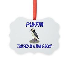 Puffin36110 Picture Ornament