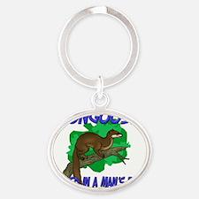 Mongoose127167 Oval Keychain