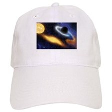 Black Hole and Star Baseball Baseball Cap