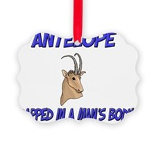 Antelope63406 Ornament