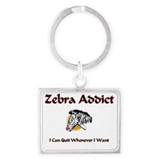 3-Zebra101 Landscape Keychain
