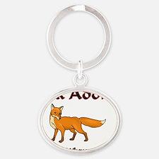 Fox25267 Oval Keychain