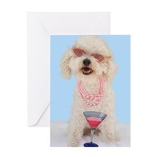 Bichon Frise Birthday Greeting Card