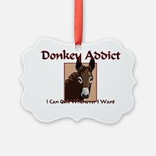 Donkey65291 Ornament