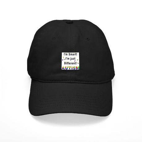 Autistic-Smart, Just Different! Black Cap