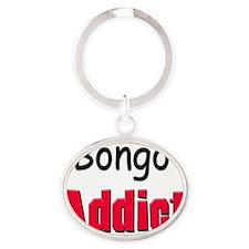 Bongo136 Oval Keychain