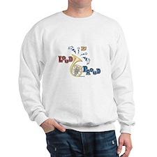 French Horn - Band Music Sweatshirt