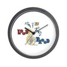 French Horn - Band Music Wall Clock