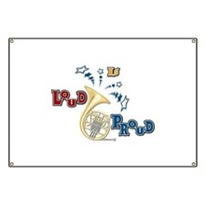 French Horn - Band Music Banner