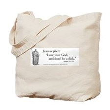 Love your God (1) Tote Bag