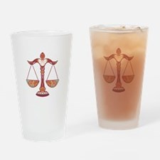 Cute Libra Drinking Glass