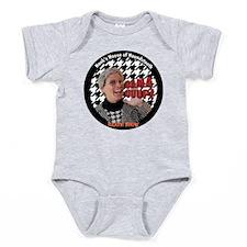 BAMA UUUP! Hank's Houndstooth Baby Bodysuit