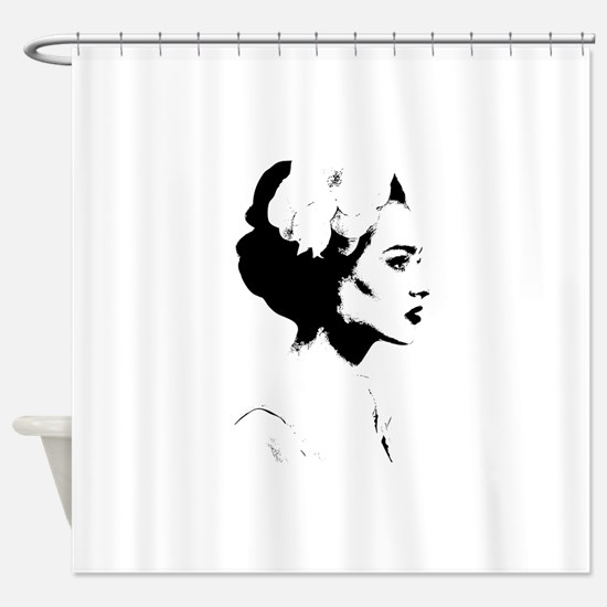 Cute Madonna Shower Curtain