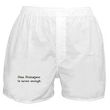 One Pomapoo Boxer Shorts