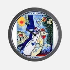 1963 France Les Fiancees Chagall Painting Stamp Wa