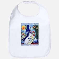 1963 France Les Fiancees Chagall Painting Stamp Bi