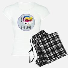 I Dream of Big Foot Pajamas