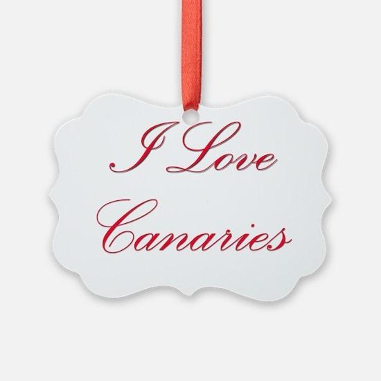 Canaries43 Ornament