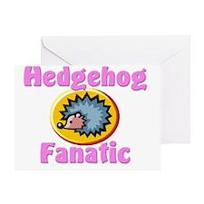 Hedgehog143236 Greeting Card