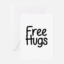 Free Hugs Greeting Cards (Pk of 20)