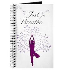 Just Breathe Wall Art Journal