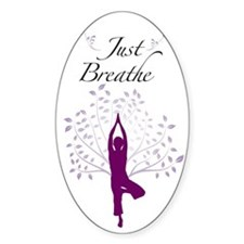 Just Breathe Wall Art Decal