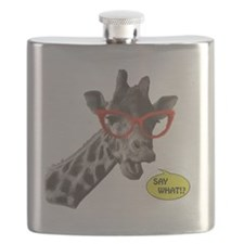 'SAY WHAT!?' Giraffe Flask