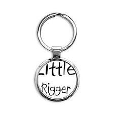 Rigger124 Round Keychain