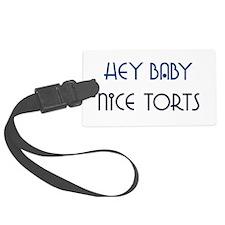 Nice Torts Luggage Tag