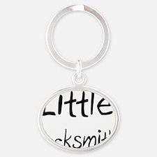 Locksmith70 Oval Keychain