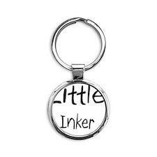 Inker63 Round Keychain