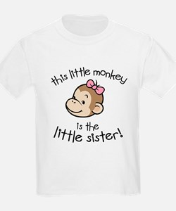Little Sister - Monkey T-Shirt