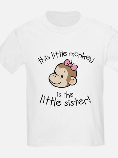 Little Sister - Monkey T-Shirt