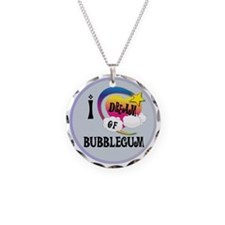 I Dream of Bubble Gum Necklace