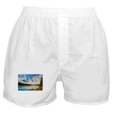 cloudy morning Boxer Shorts