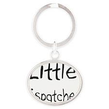 Dispatcher52 Oval Keychain