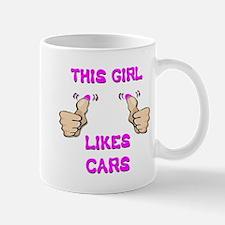 This Girl Likes Cars Mug