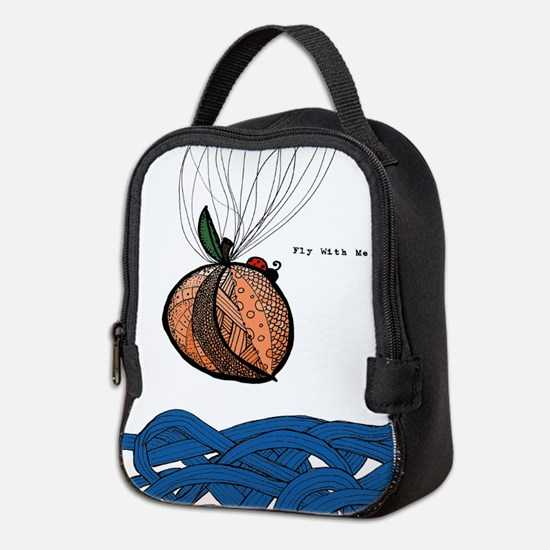 Fly With Me Neoprene Lunch Bag