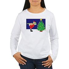 Santasaurus Long Sleeve T-Shirt