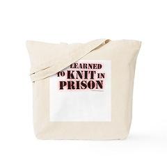 Prison Knitter Knitting Bag