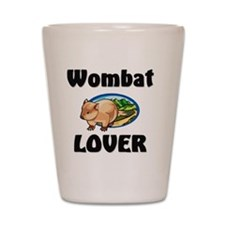 Wombat1436 Shot Glass