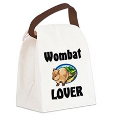 Wombat1436 Canvas Lunch Bag