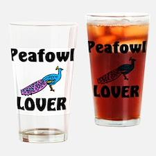 Peafowl25137 Drinking Glass