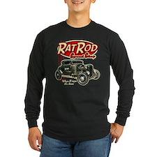 Rat Rod Speed Shop Long Sleeve T-Shirt