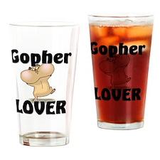 Gopher103256 Drinking Glass