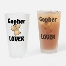 Gopher103256 Drinking Glass
