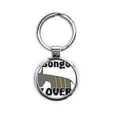 Bongo104365 Round Keychain