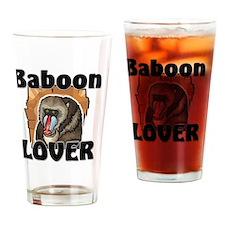Baboon21397 Drinking Glass